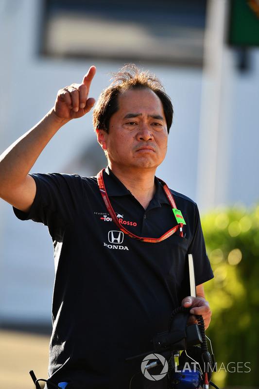 Технічний директор Honda F1 Тойохару Танабе