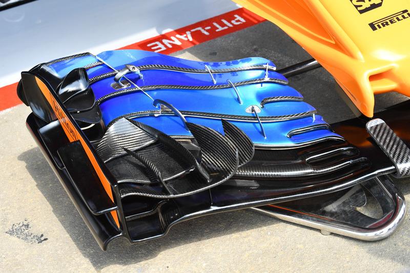 Переднее крыло McLaren MCL33