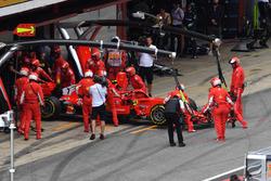 Kimi Raikkonen, Ferrari SF71H abandonne