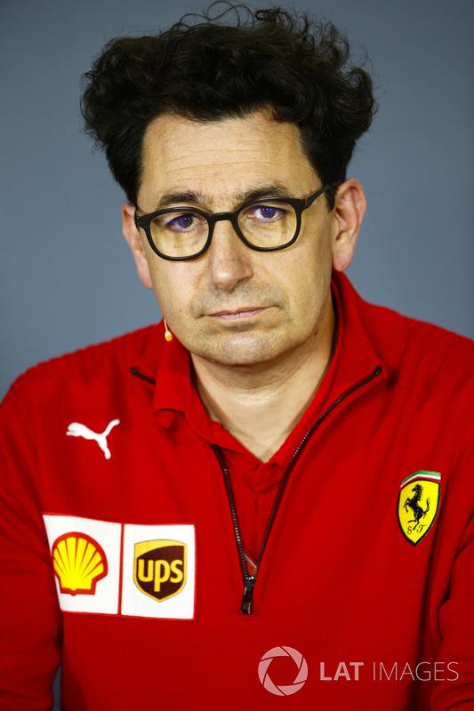 Mattia Binotto, director técnico de Ferrari