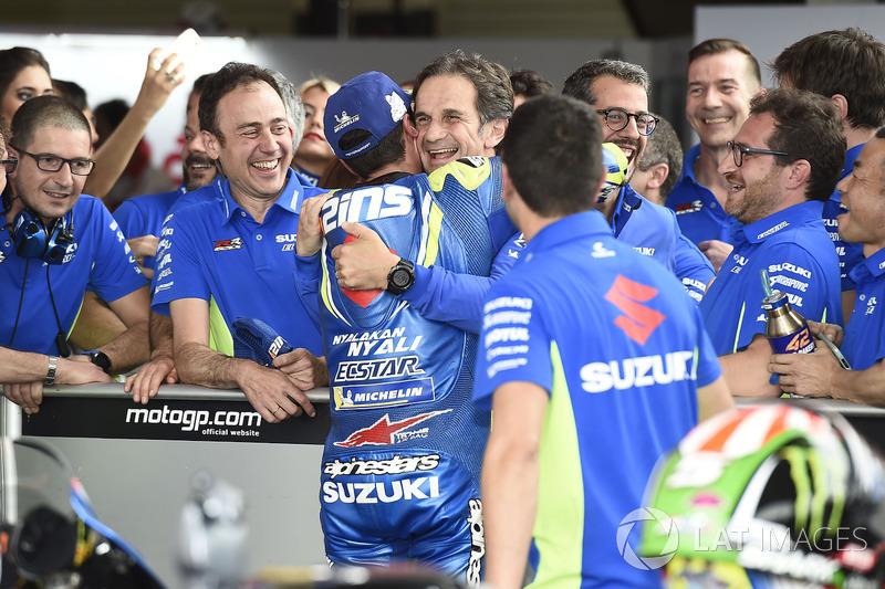 Третє місце Алекс Рінс, Team Suzuki MotoGP