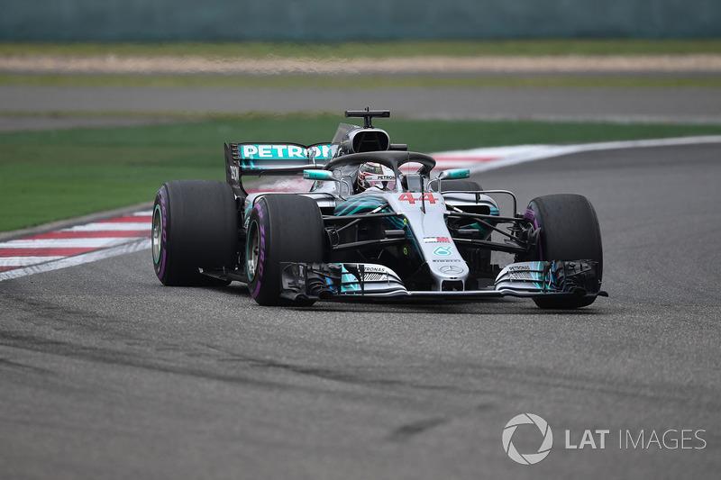 4. Lewis Hamilton, Mercedes-AMG F1 W09 EQ Power