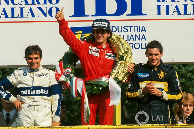 Dono de 51 vitórias, Alain Prost foi ao pódio 106 vezes em 202 GPs
