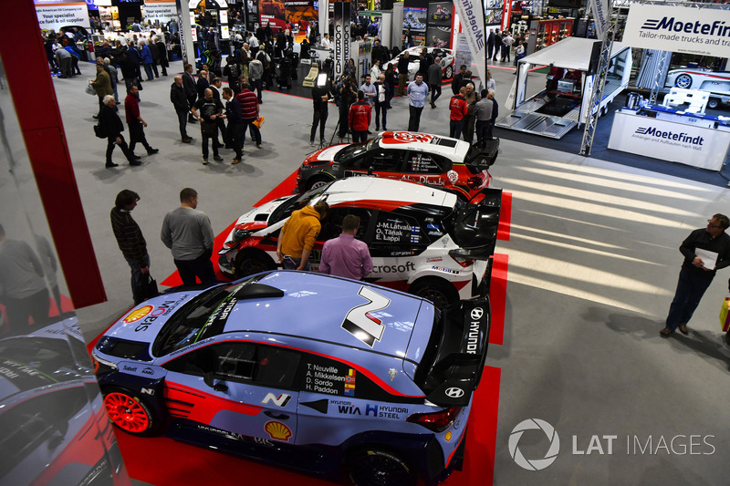 The WRC season is launched from Autosport International
