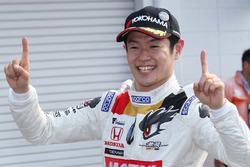 Race winner Naoki Yamamoto, Team Mugen