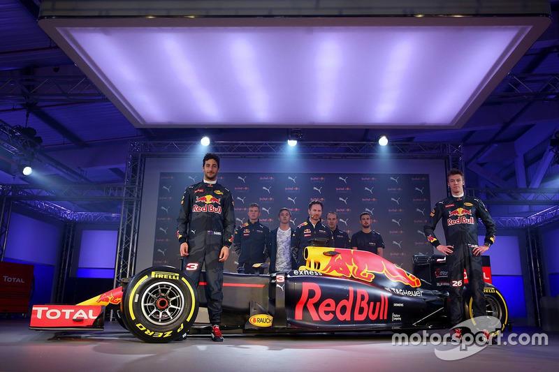 Nova pintura da Red Bull