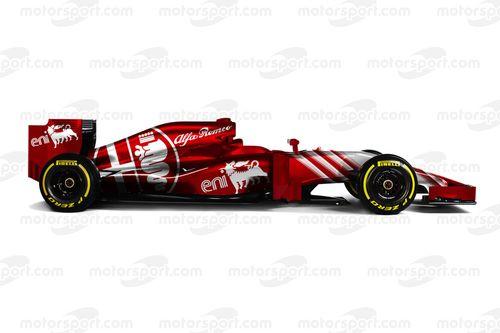 Fantasy retro F1 liveries