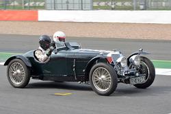 Silverstone Classic acción del día de medios