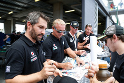 #7 BMW Team SRM, BMW M6 GT3: Tony Longhurst, Mark Skaife, Russell Ingall, Timo Glock at the autograph session