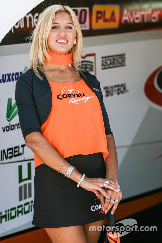 Девушки в паддоке Argentina Corven Racing