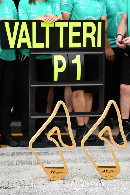 Pokale des GP Österreich 2017