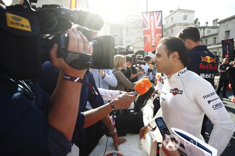 Felipe Massa, Williams, di sesi wawancara