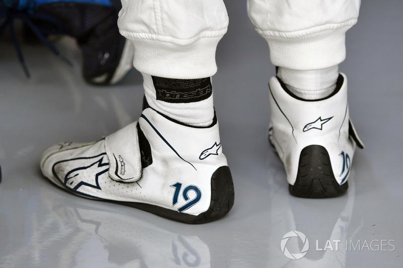 Взуття Феліпе Масси, Williams