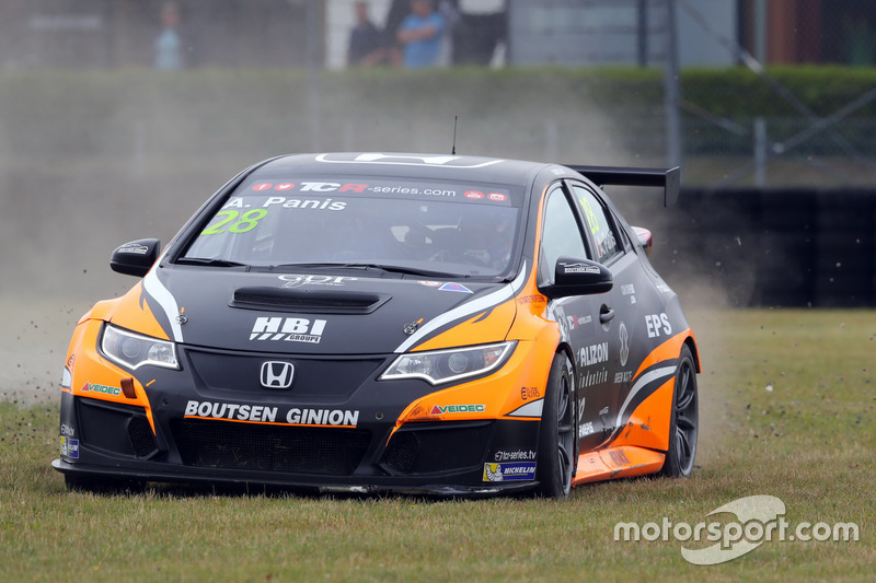 Орельєн Паніс, Boutsen Ginion Racing, Honda Civic Type-R TCR