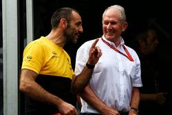 Cyril Abiteboul, Renault Sport F1 con el Dr Helmut Marko, Red Bull