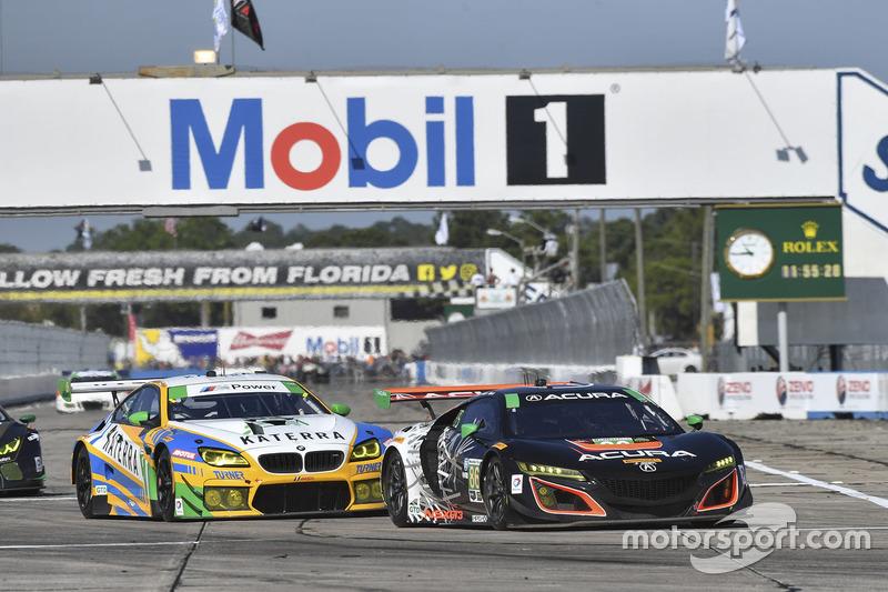 #86 Michael Shank Racing, Acura NSX: Oswaldo Negri Jr., Jeff Segal, Tom Dyer