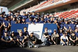 Серхио Перес, Sahara Force India F1, Марку Эрикссон, Sauber, Паскаль Верляйн, Sauber, Льюис Хэмилтон, Mercedes AMG F1, Даниил Квят, Scuderia Toro Rosso, Стоффель Вандорн, McLaren, Фелипе Масса, Williams, Валттери Боттас, Mercedes AMG F1
