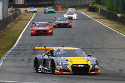 #17 Team WRT, Audi R8 LMS: Stuart Leonard, Robin Frijns