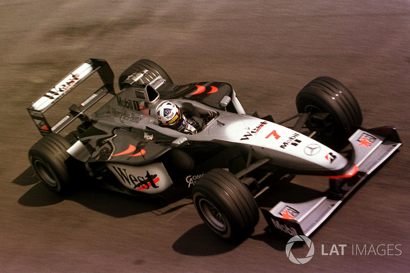 10: David Coulthard: 164 GPs (66,67% dos disputados)