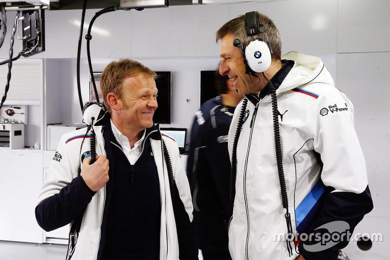 Stefan Reinhold, Team Principal BMW Team RMG and Bart Mampey, Team Principal BMW Team RBM