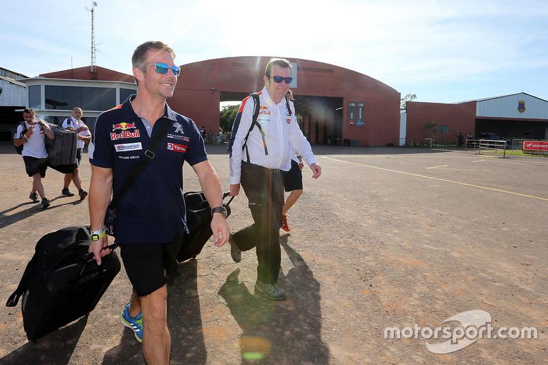 Sébastien Loeb, Peugeot Sport, Bruno Famin, sporting director Peugeot Sport