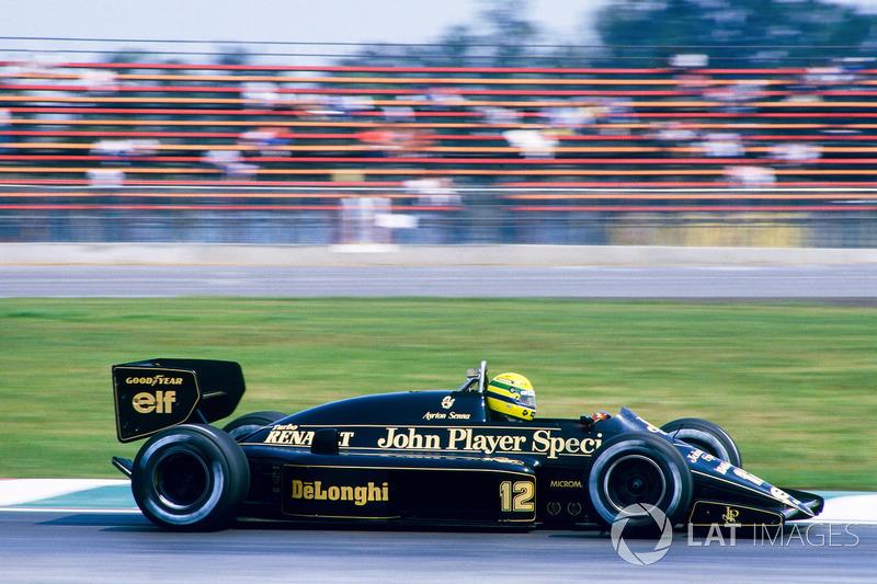 Lotus 1986: Ayrton Senna, Lotus 98T