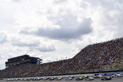 Start: Brad Keselowski, Team Penske Ford, Joey Logano, Team Penske Ford
