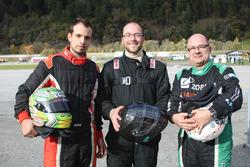 Philip Egli, Marcel Maurer, Jean-Marc Salomon, podium