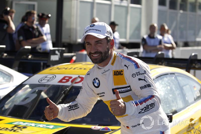 Il poleman Timo Glock, BMW Team RMG, BMW M4 DTM