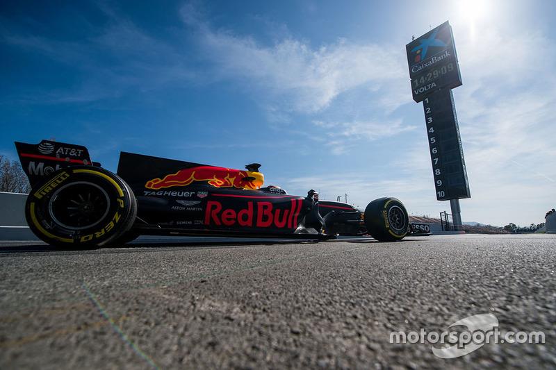 Jeudi : Daniel Ricciardo, Red Bull Racing RB13