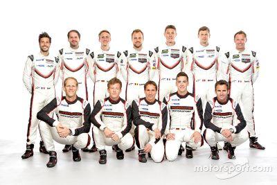 Porsche fabrieksrijders 2017