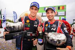 Third place Thierry Neuville, Nicolas Gilsoul, Hyundai i20 WRC, Hyundai Motorsport