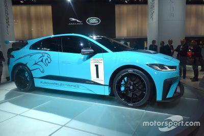 Presentazione Jaguar I-PACE eTROPHY