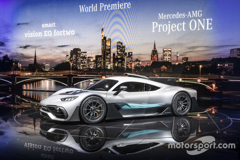 Шоукар Mercedes-AMG Project ONE