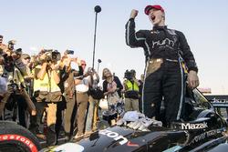 Святкування чемпіона сезону 2017 Джозефа Ньюгардена, Team Penske Chevrolet