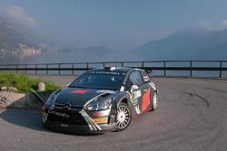 Robert Kubica, Emanuele Inglesi, Citroën C4 WRC Rally Trofeo ACI Como 2012