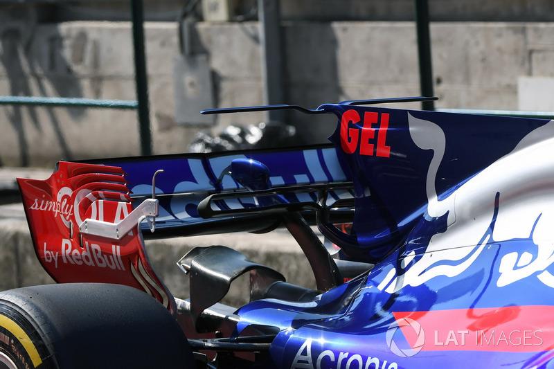 Scuderia Toro Rosso STR12, Heckflügel