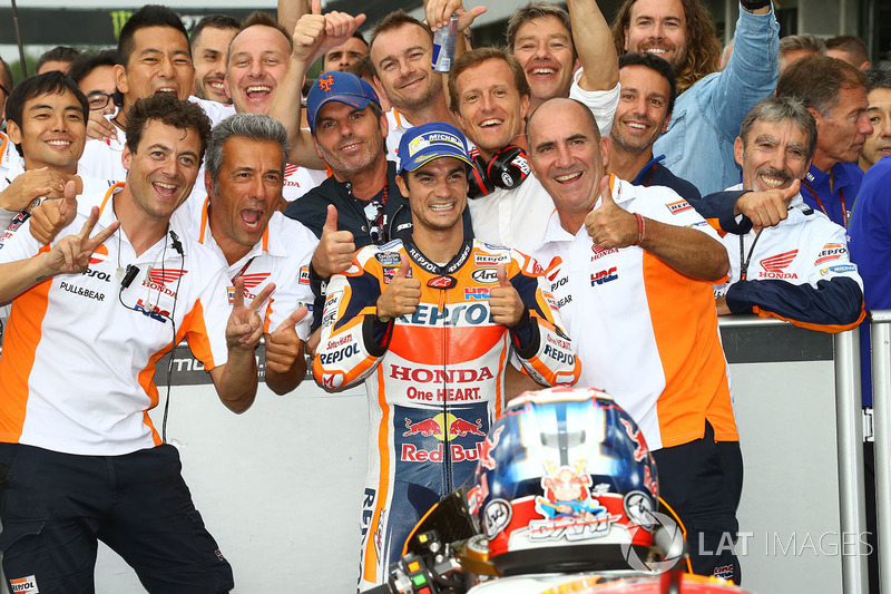Друге місце Дані Педроса, Repsol Honda Team