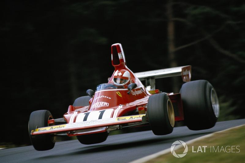1974年ドイツGP:クレイ・レガッツォーニ(フェラーリ)