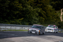 Klaus Ludwig, Mercedes 190 DTM and Johnny Cecotto, BMW M3 DTM