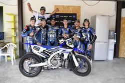 Студенти четвертого Yamaha VR46 Master Camp та Франко Беллі