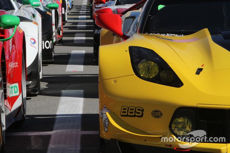 Detalle del Chevrolet Corvette C7.R, Corvette Racing