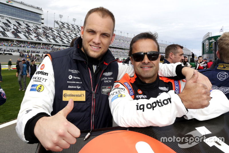 Pedro Lamy, Marco Sorenson, Aston Martin Racing
