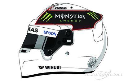 Concours de design du casque de Lewis Hamilton