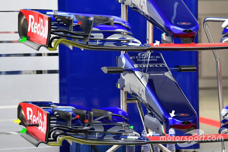 Morros del Scuderia Toro Rosso STR12
