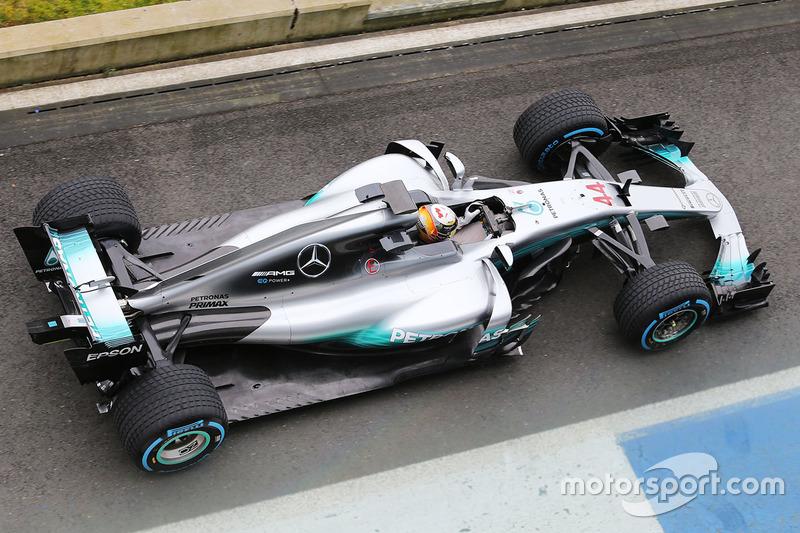Льюіс Хемілтон, Mercedes AMG F1 W08 Hybrid