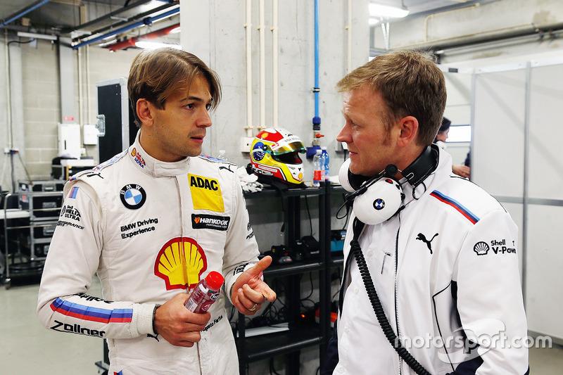 Augusto Farfus mit RMG-Teamchef Stefan Reinhold