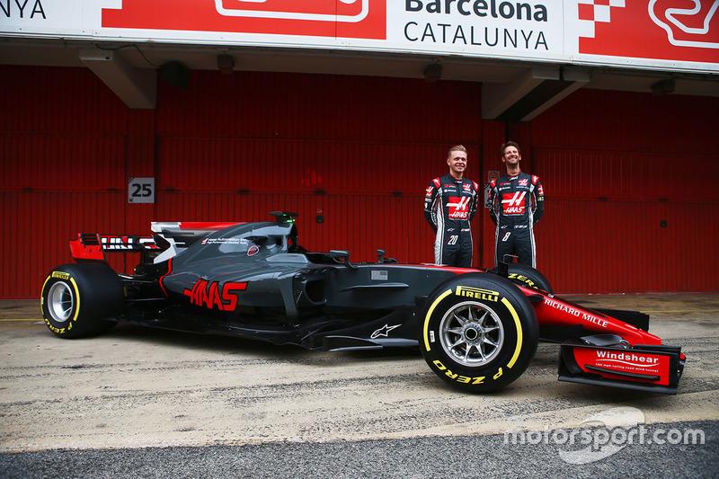 3. Haas F1 VF-17