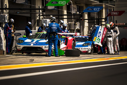 #66 Ford Chip Ganassi Racing Ford GT: Олів'є Пла, Штефан Мюкке, #67 Ford Chip Ganassi Racing Ford GT: Енді Пріоль, Гаррі Тінкнелл