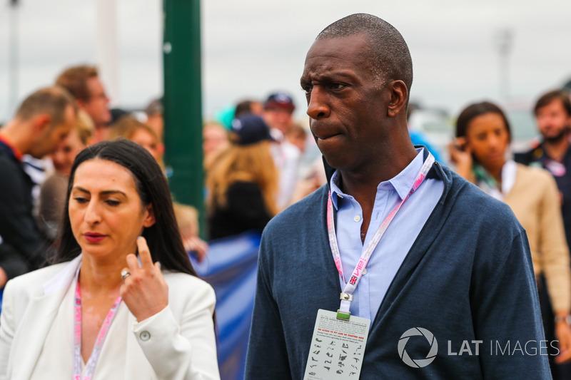 Великобритания: легкоатлет Майкл Джонсон